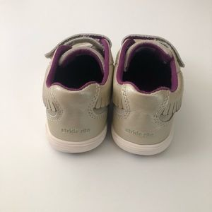 Stride Rite Shoes - Stride Rite Perri Girls Shoes in Champagne 10W